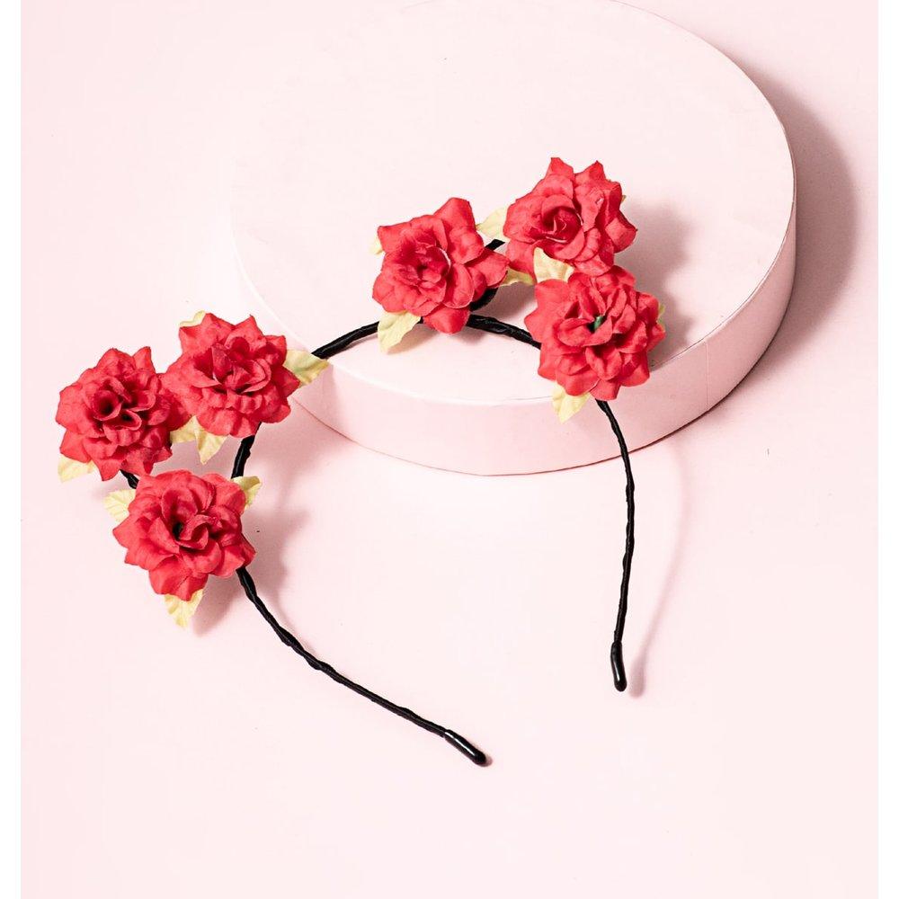 Cerceau de cheveux à fleur - SHEIN - Modalova