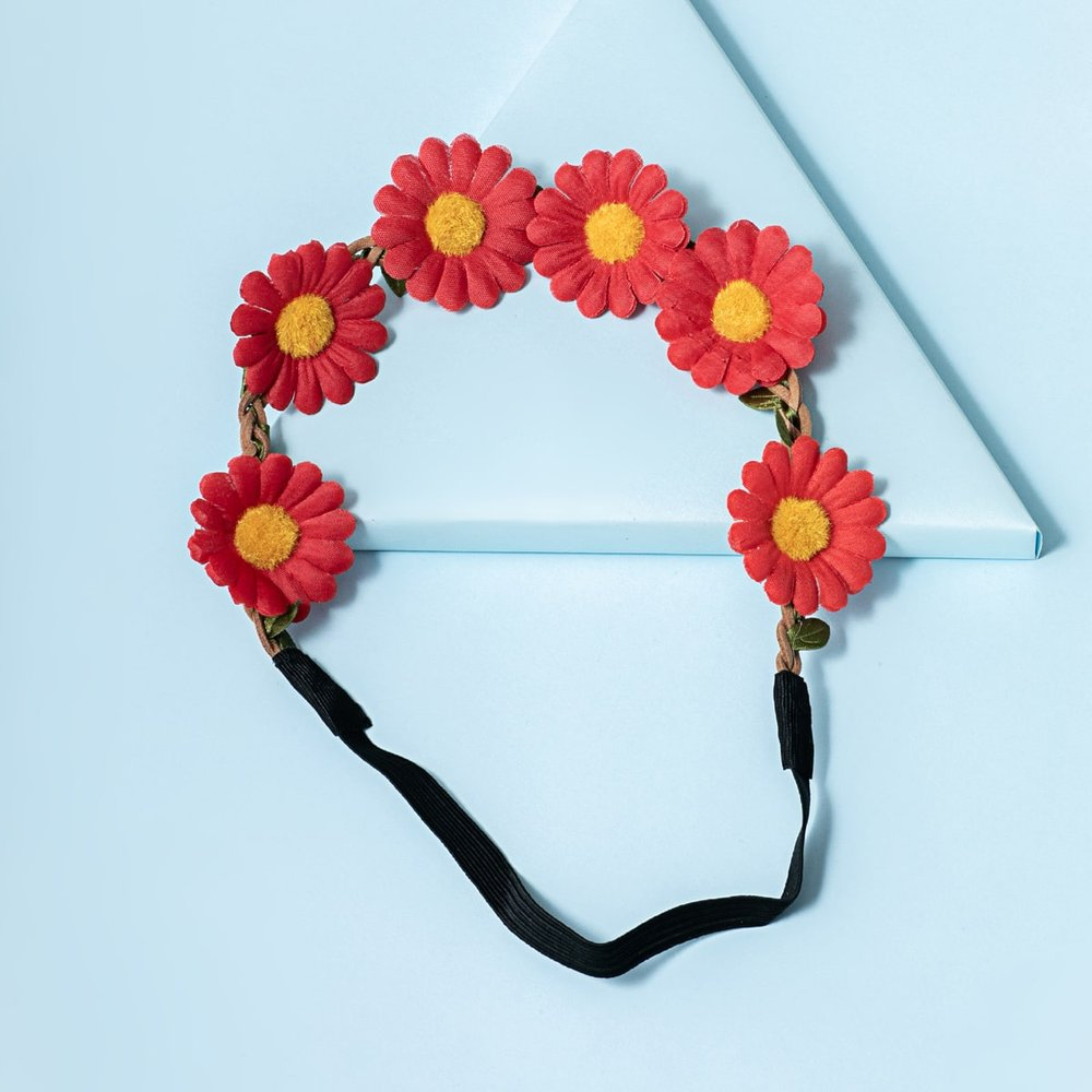 Bandeau à fleur - SHEIN - Modalova