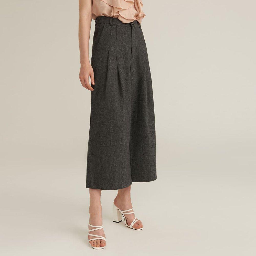 Jupe-culotte plissé - SHEIN - Modalova