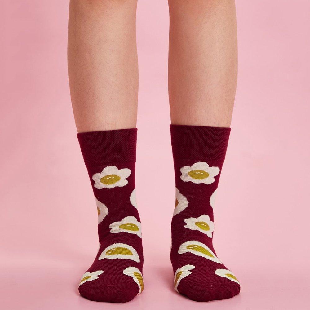 Chaussettes à motif - SHEIN - Modalova
