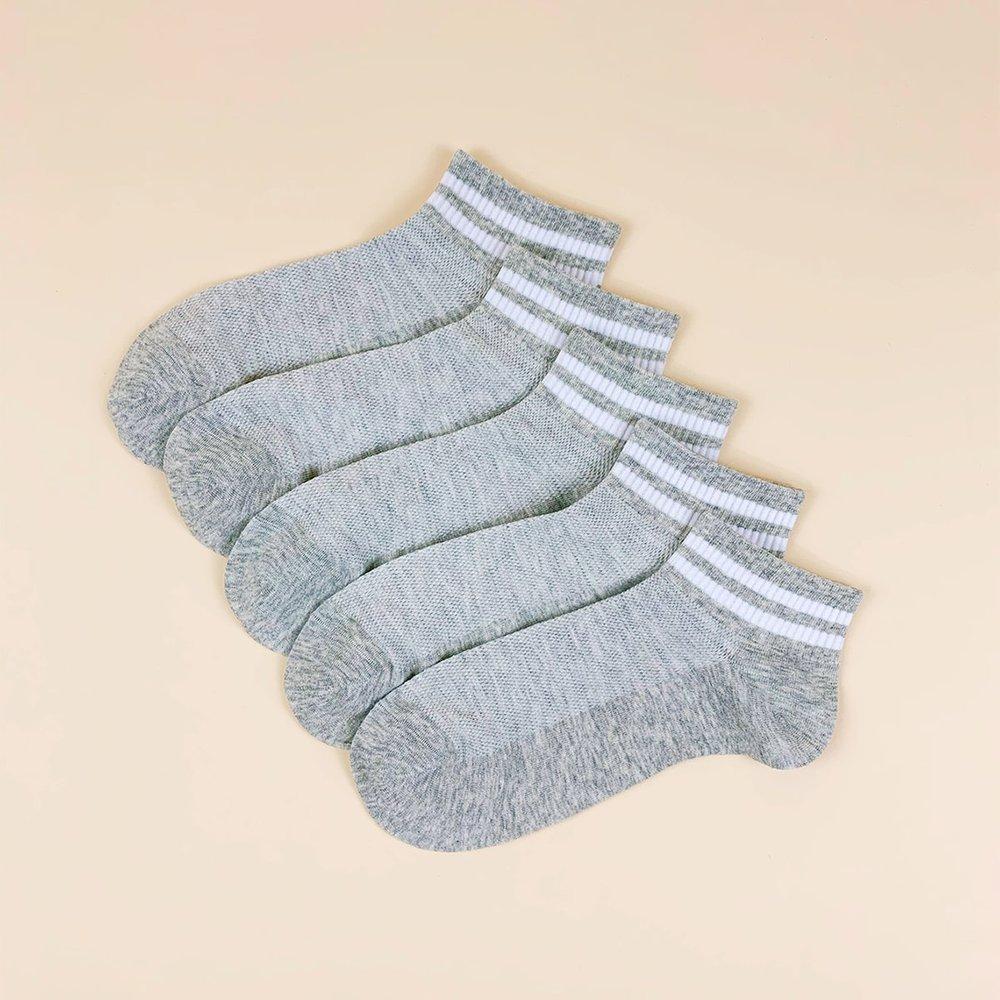 Paires Homme Chaussettes rayées - SHEIN - Modalova