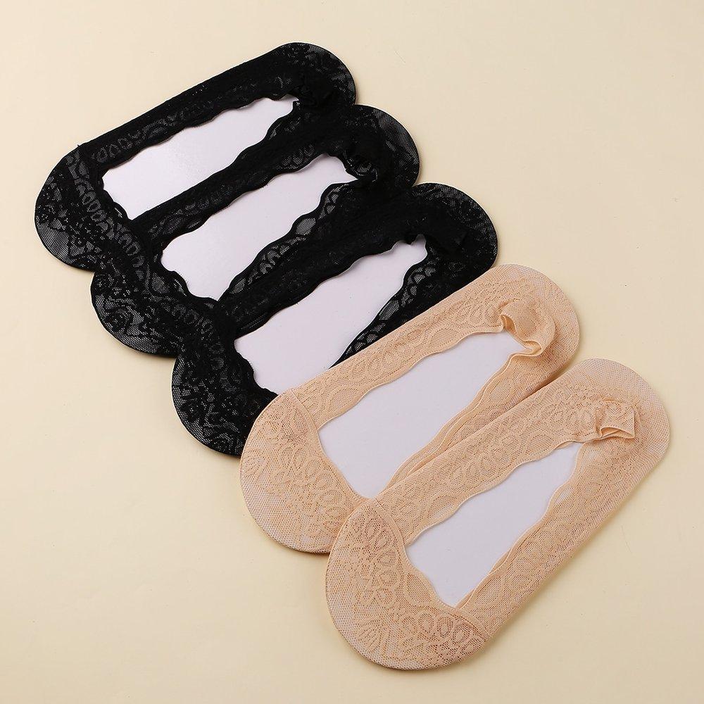 Paires Chaussettes invisibles en dentelle - SHEIN - Modalova
