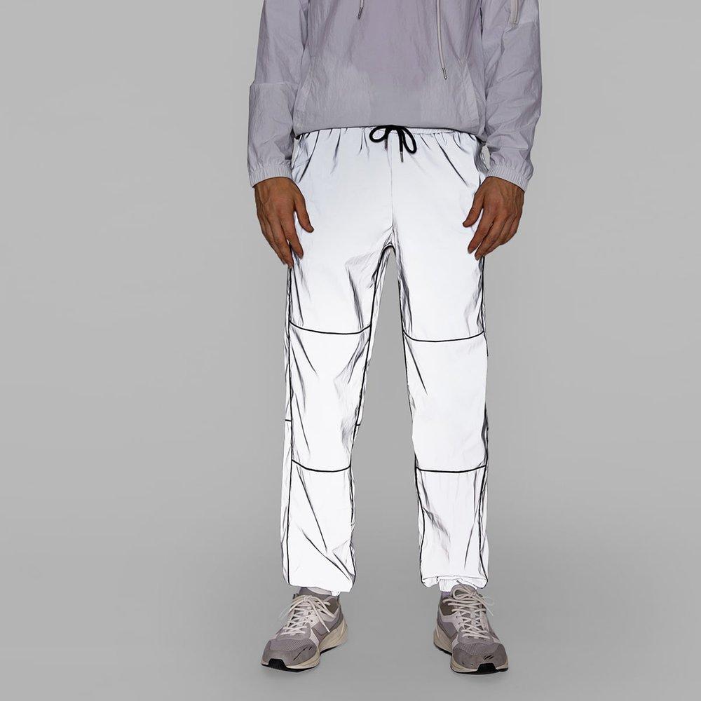 Pantalon coupe-vent réfléchissant - SHEIN - Modalova