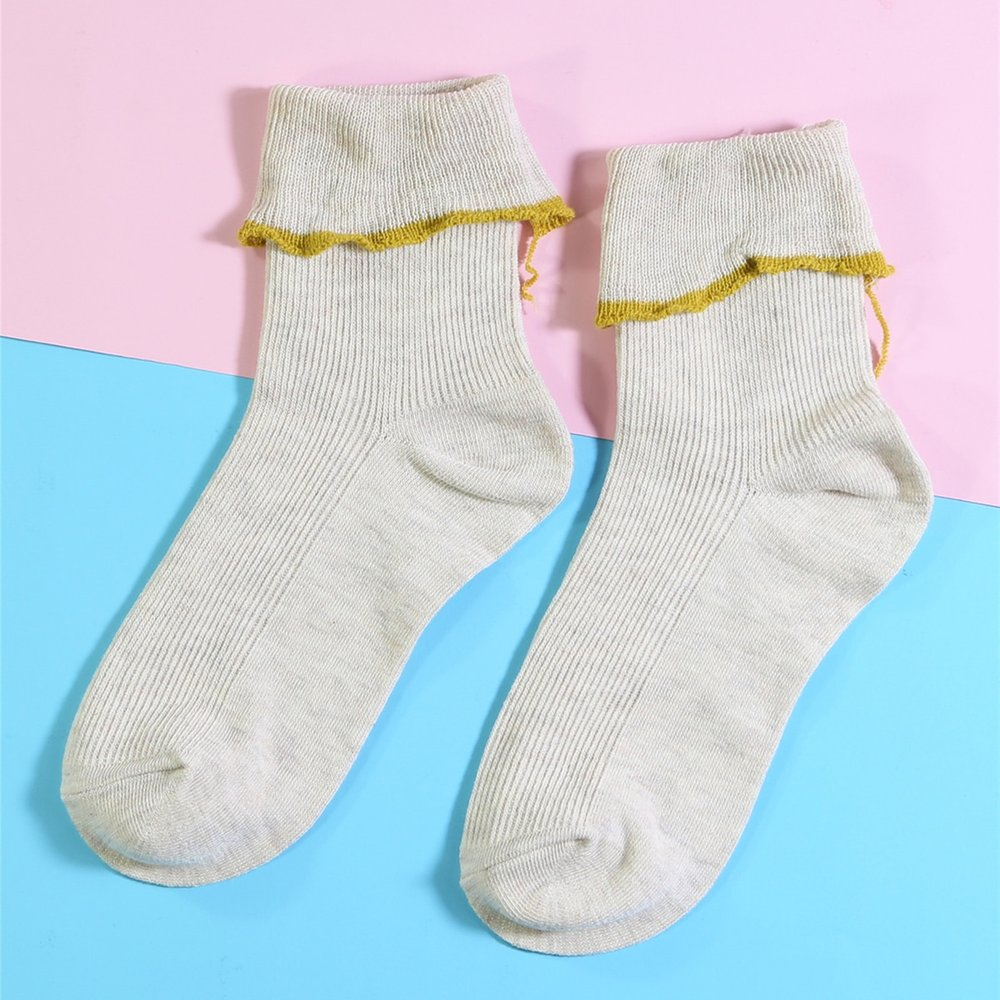 Chaussettes avec plis - SHEIN - Modalova