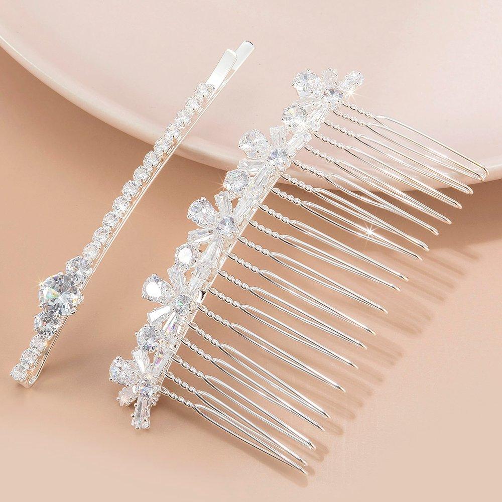 Pièces Accessoires pour cheveux avec strass - SHEIN - Modalova