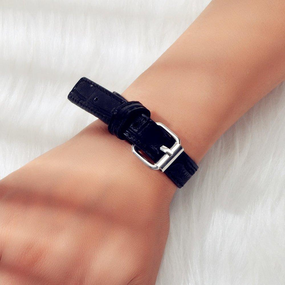 Bracelet simple en cuir PU - SHEIN - Modalova