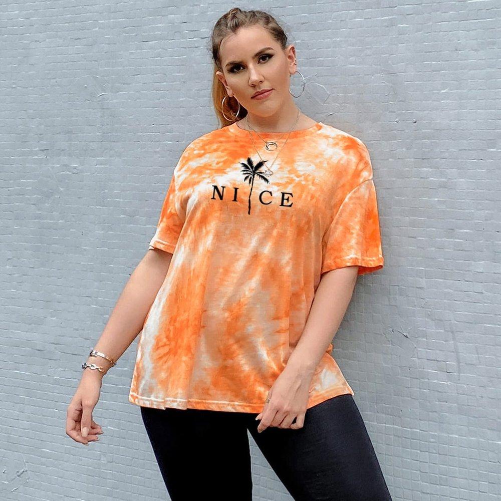 T-shirt tie dye - SHEIN - Modalova