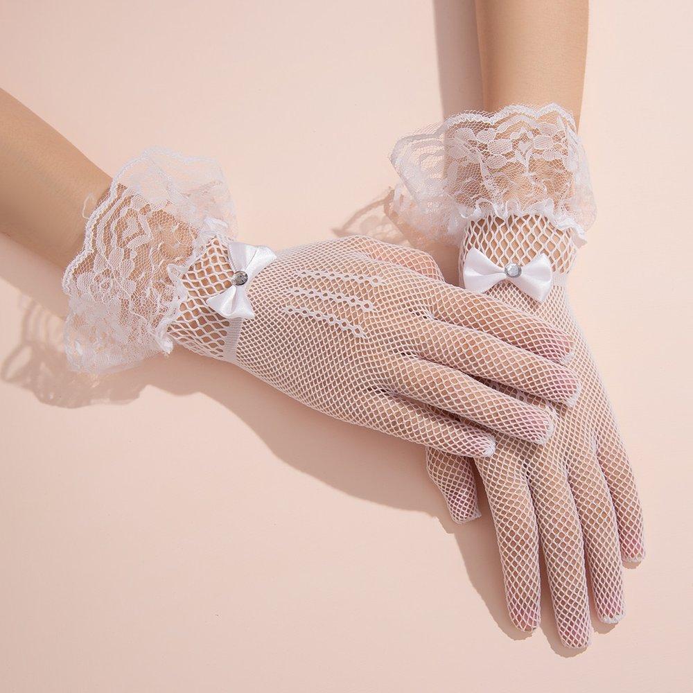 Gants en maille avec nœud - SHEIN - Modalova