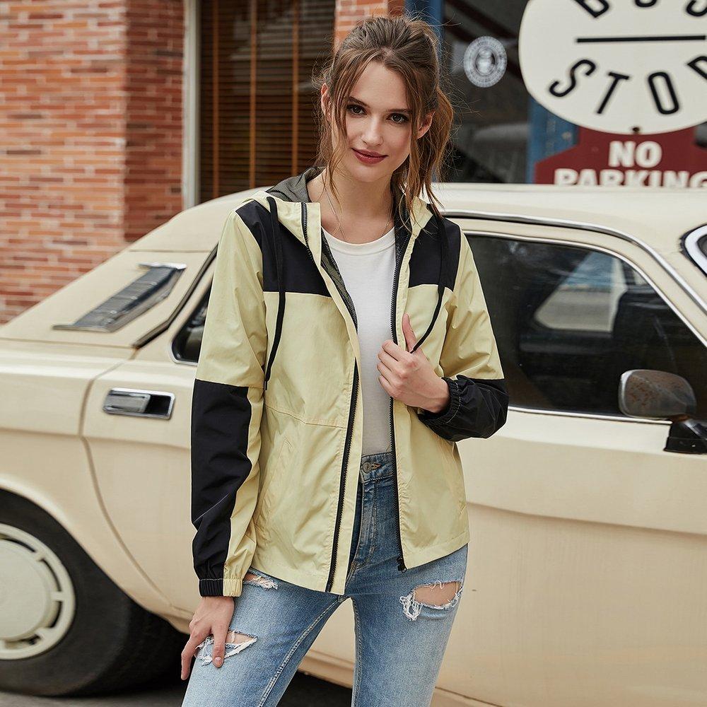 Veste à capuche avec zip - SHEIN - Modalova