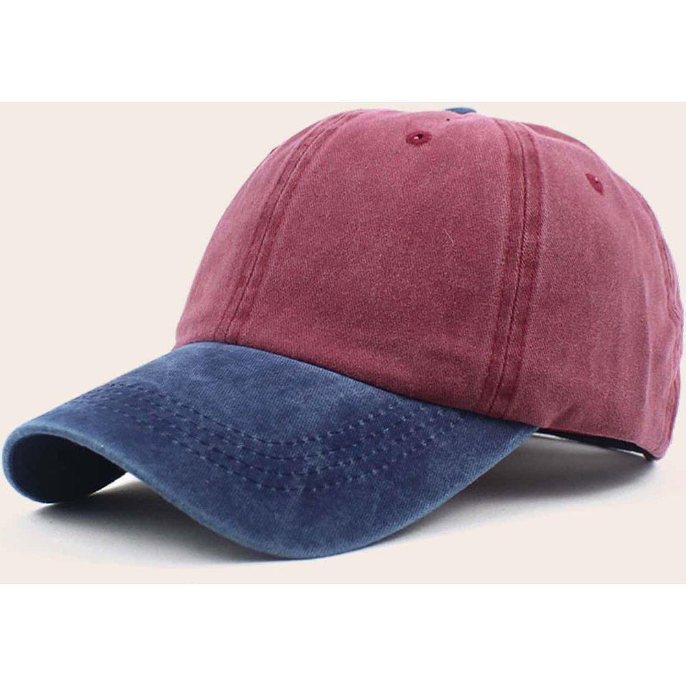 Casquette de baseball bicolore - SHEIN - Modalova
