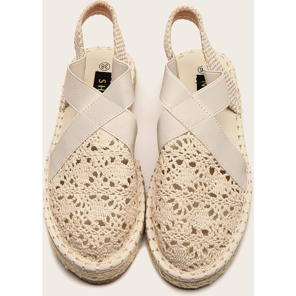 Sandales espadrilles creuse - SHEIN - Modalova