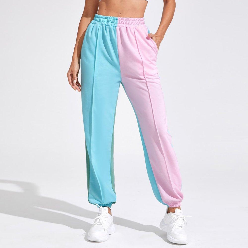 Pantalon de sport taille haute - SHEIN - Modalova