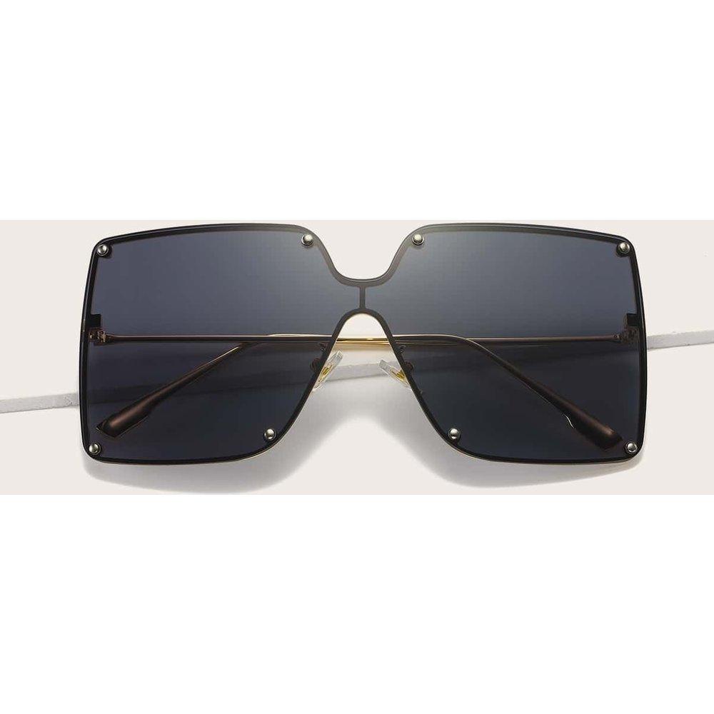 Lunettes de soleil à montures acryliques oversize - SHEIN - Modalova