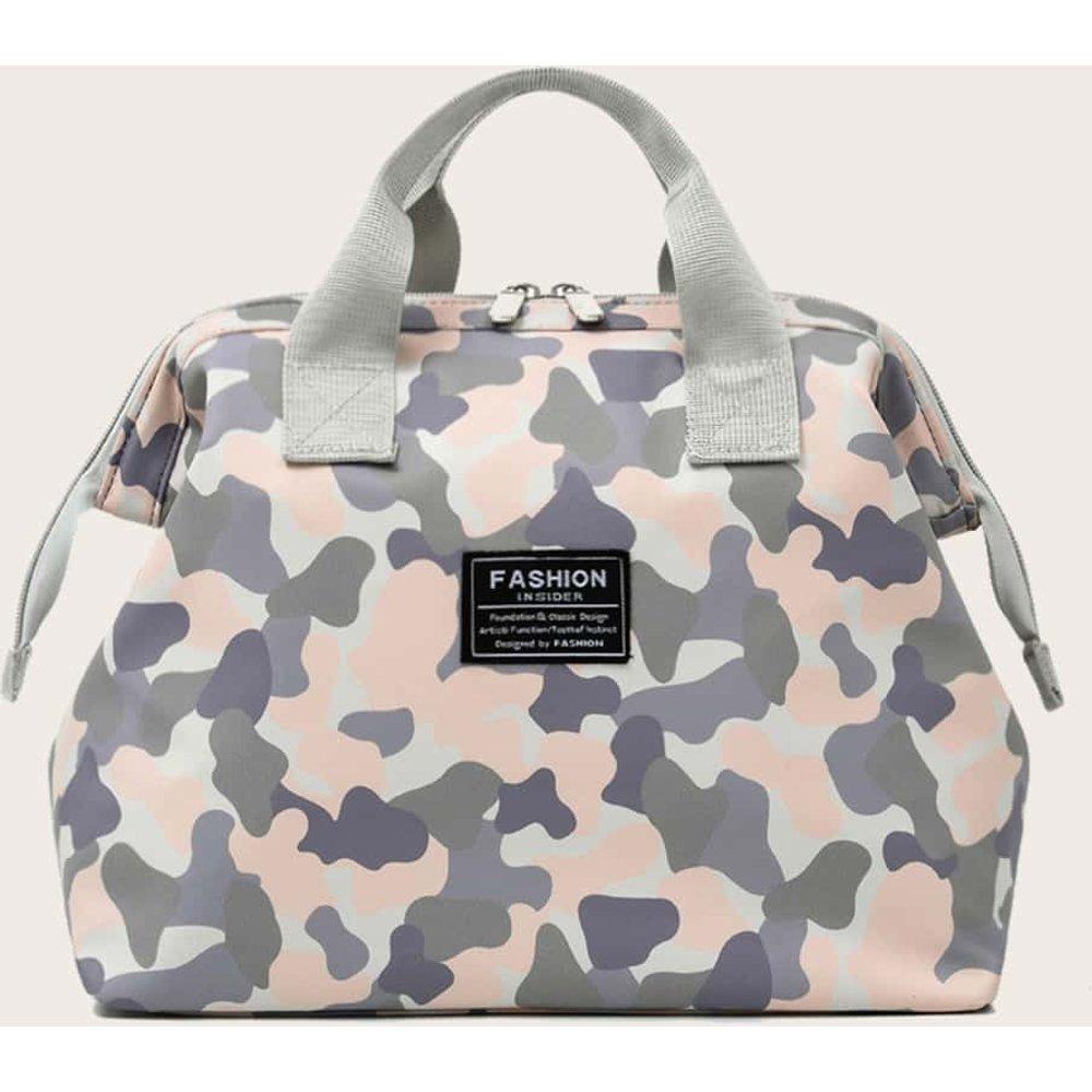 Cartable à motif camouflage - SHEIN - Modalova