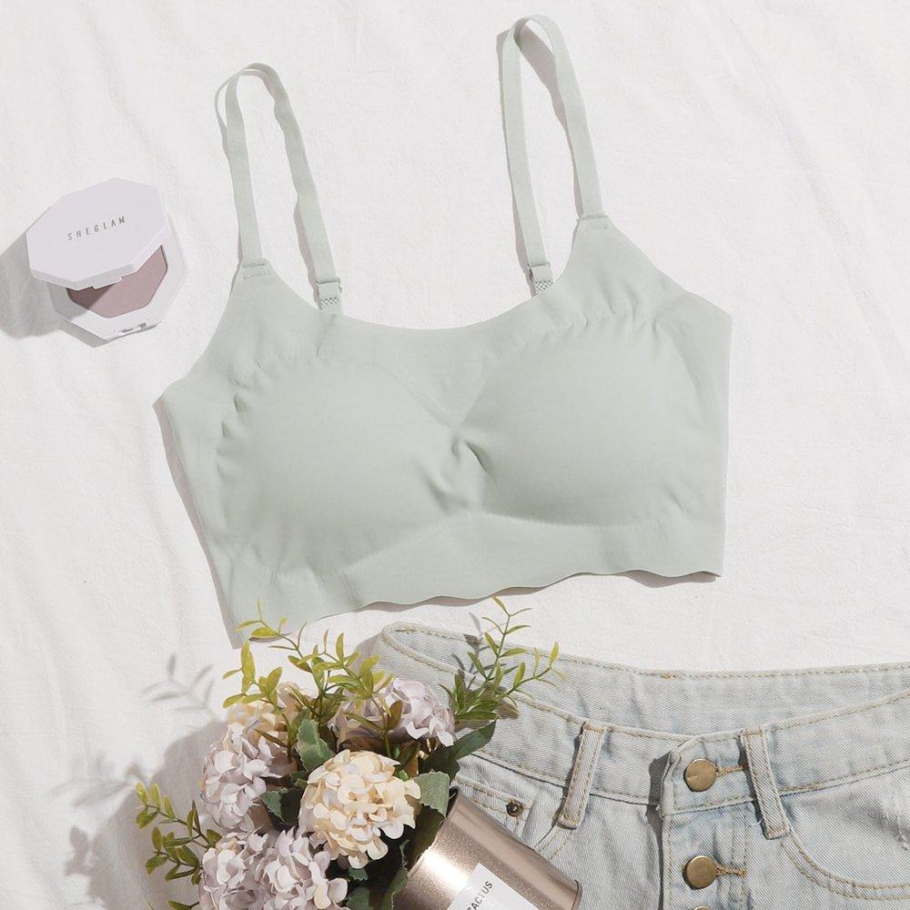 Soutien-gorge sans couture (sans armature) - SHEIN - Modalova