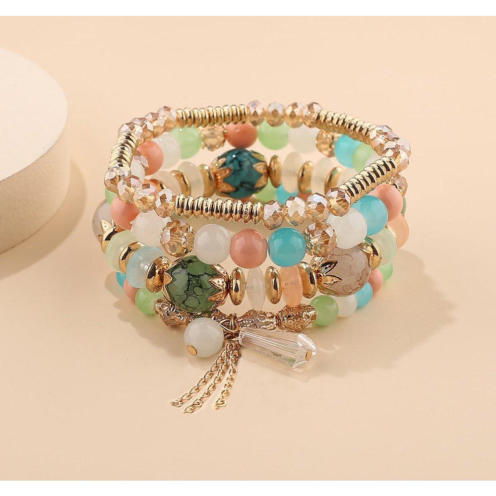Pièces Bracelet avec perle - SHEIN - Modalova