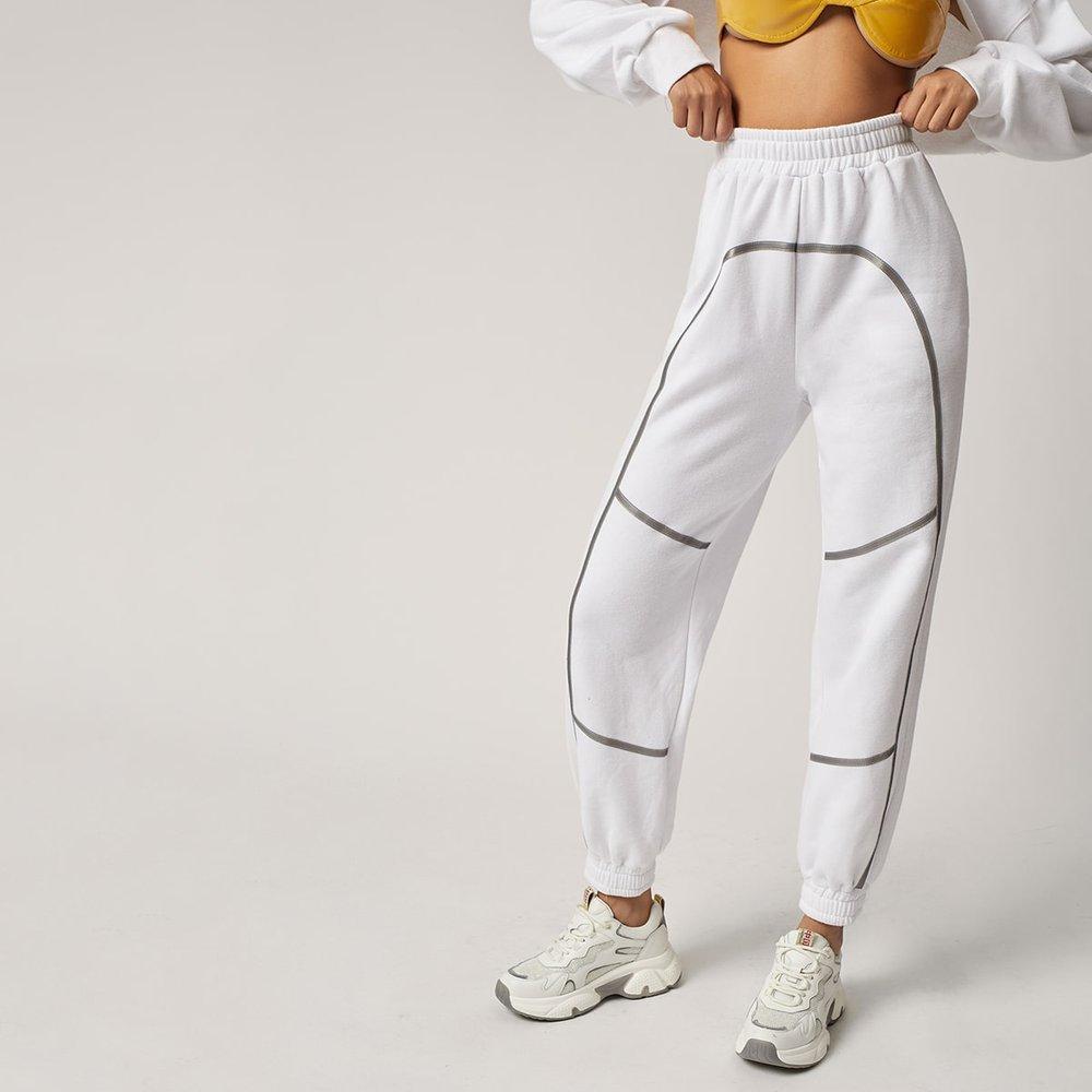 Pantalon de survêtement à taille élastique - SHEIN - Modalova