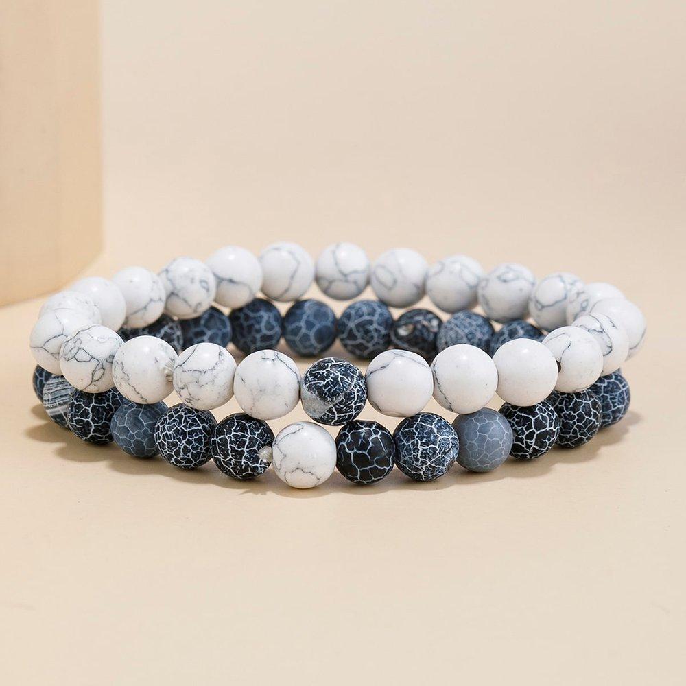 Pièces Bracelet avec perle versicolores - SHEIN - Modalova