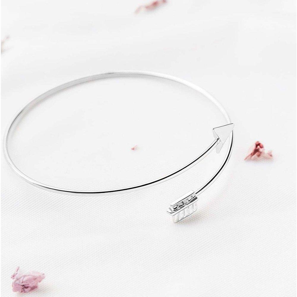 Bracelet manchette en argent - SHEIN - Modalova