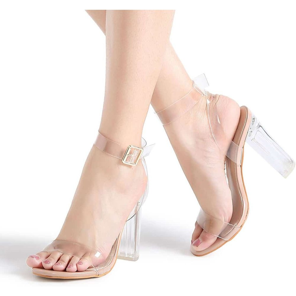 Sandales à talons à bretelle - SHEIN - Modalova
