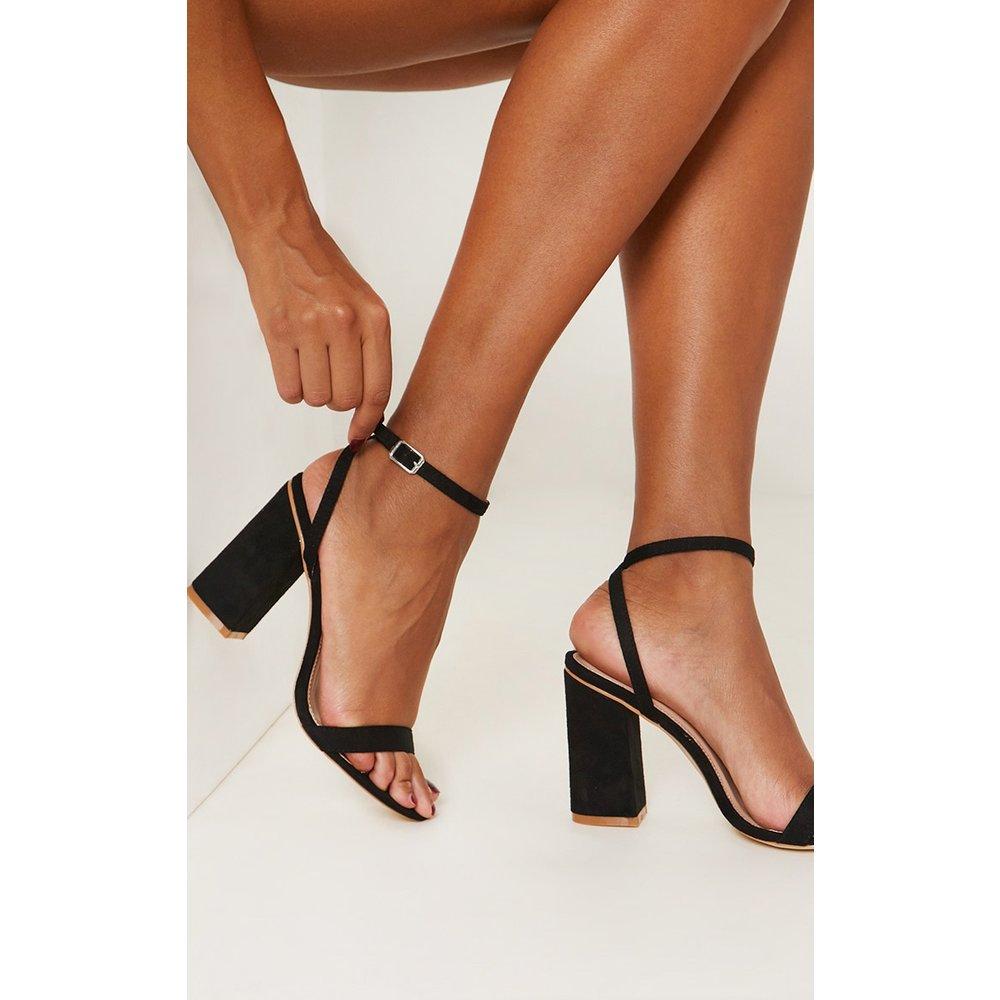 Sandales à brides & talons carrés - PrettyLittleThing - Modalova