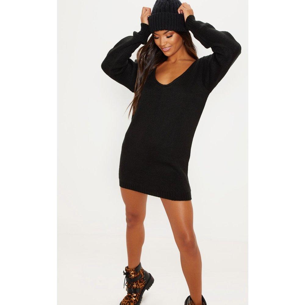 Mini-robe en maille douce à épaules dénudées - PrettyLittleThing - Modalova