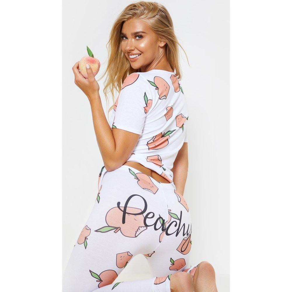 Ensemble de pyjama à legging Peachy - PrettyLittleThing - Modalova
