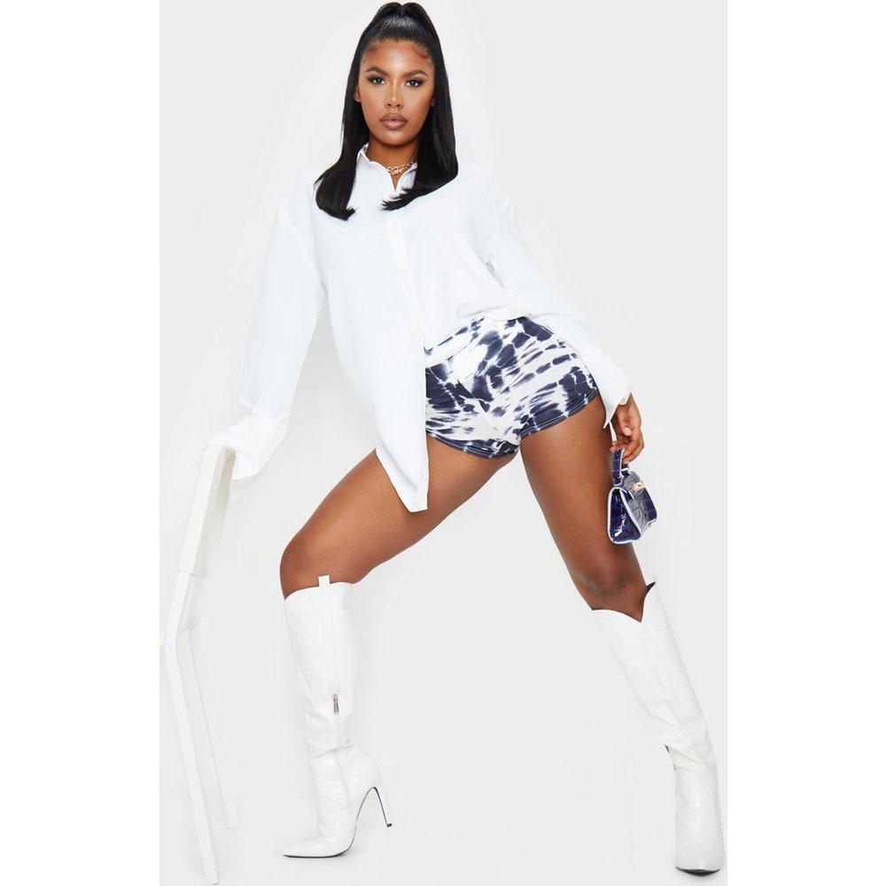 Mini short taille haute en jersey imprimé tie & dye  - PrettyLittleThing - Modalova