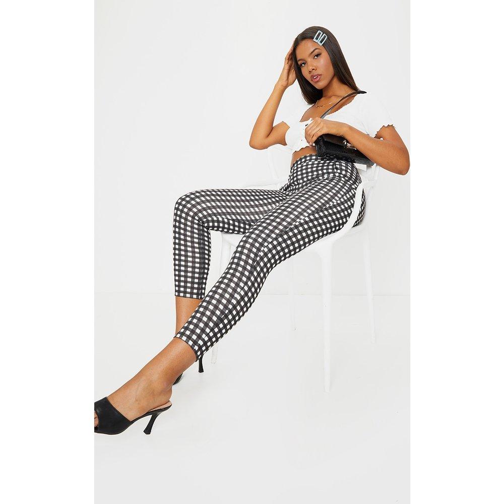 Pantalon skinny imprimé vichy - PrettyLittleThing - Modalova