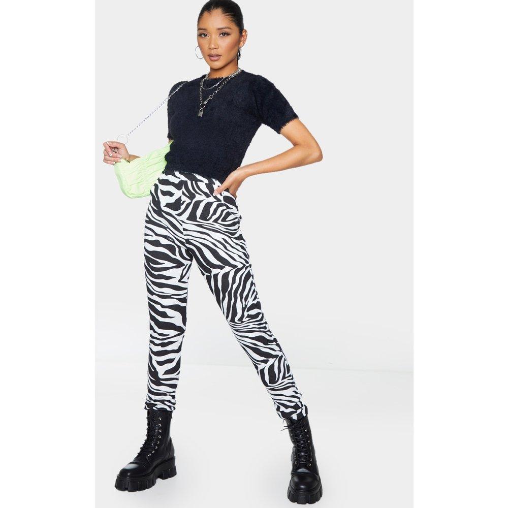 Pantalon skinny à imprimé zébrures - PrettyLittleThing - Modalova