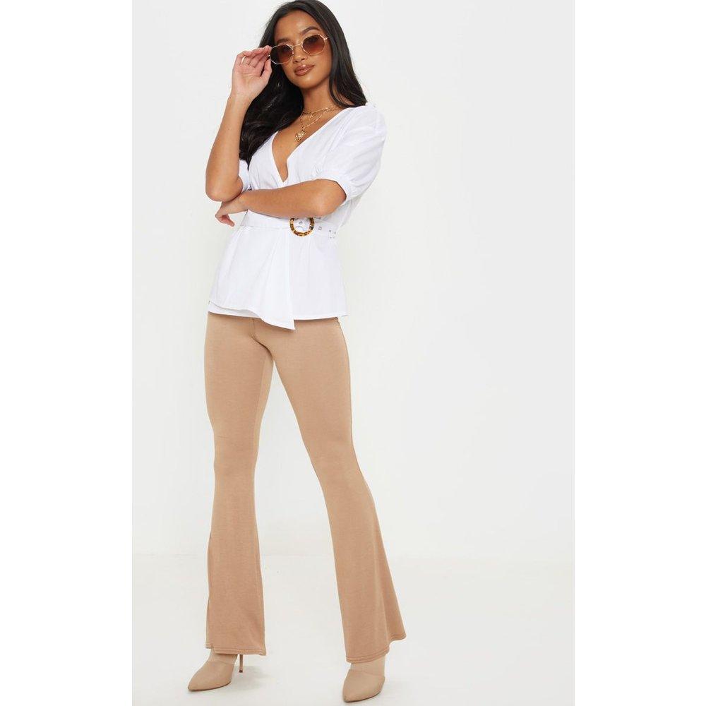 Petite - Pantalon flare basique  - PrettyLittleThing - Modalova