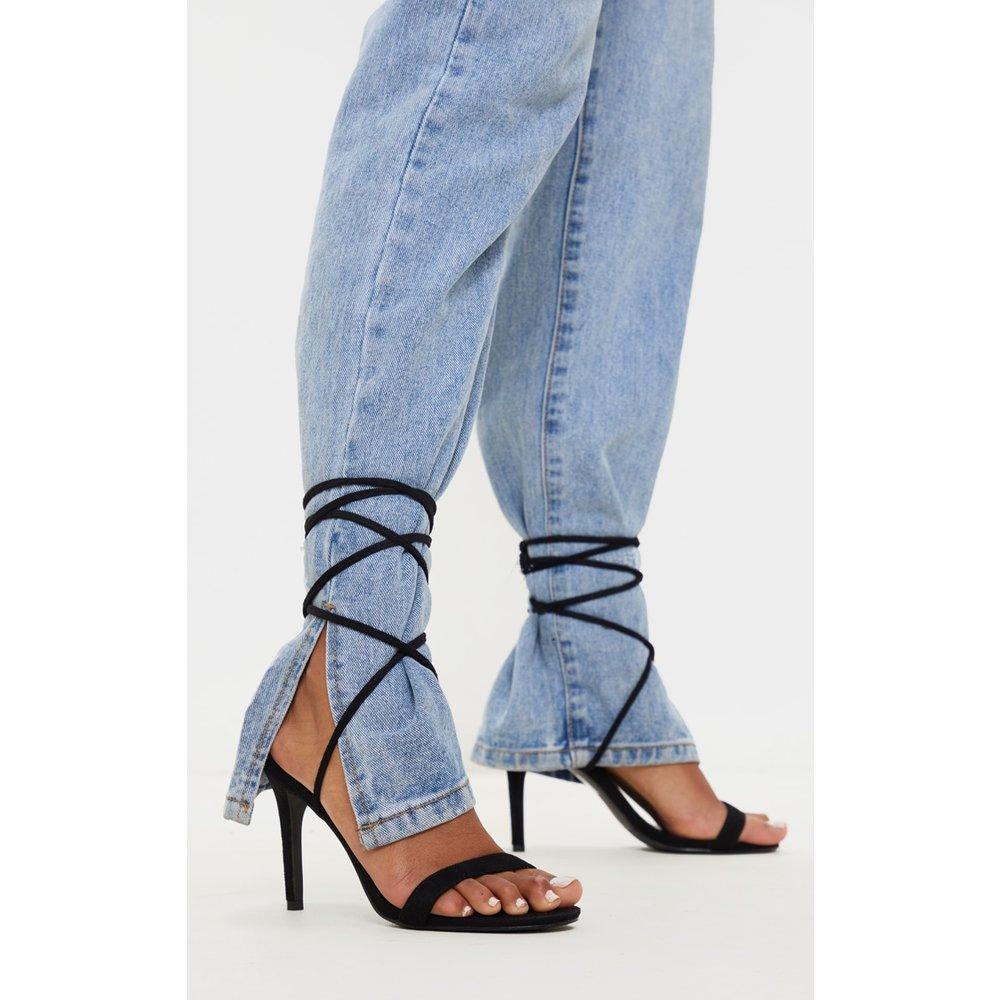 Sandales à talons profond à lacets - PrettyLittleThing - Modalova