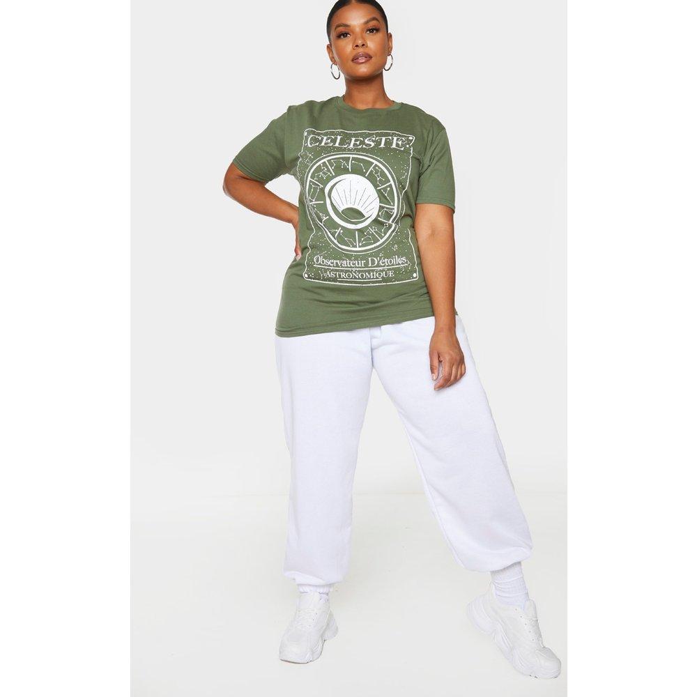 PLT Plus - T-shirt imprimé astronomie - PrettyLittleThing - Modalova