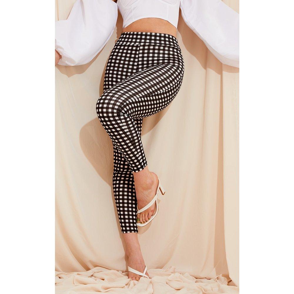 Pantalon skinny à imprimé vichy - PrettyLittleThing - Modalova