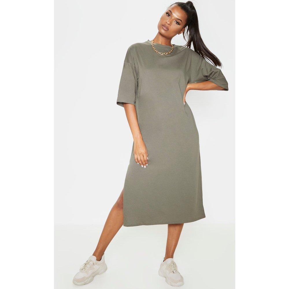 Robe t-shirt mi-longue oversize  - PrettyLittleThing - Modalova