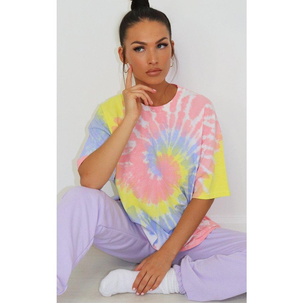 T-shirt imprimé tie & dye  - PrettyLittleThing - Modalova