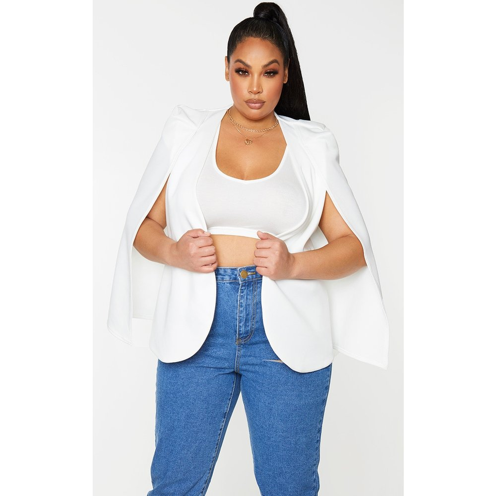 PLT Plus - Blazer style cape - PrettyLittleThing - Modalova