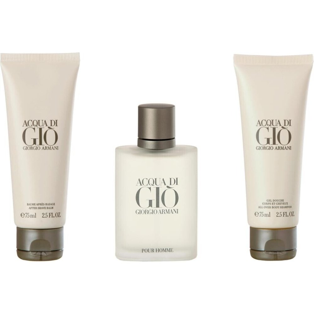 Giorgio Armani Acqua di Gio Homme Set (EdT 50ml + AS 75ml + SG 75ml)