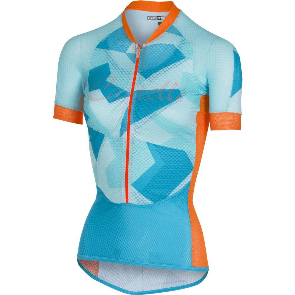 Castelli Women's Climber's Short Sleeve Jersey | Light Blue
