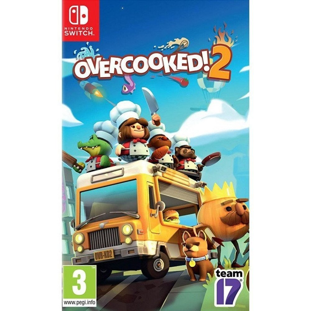 Team 17 Overcooked! 2 (Switch)