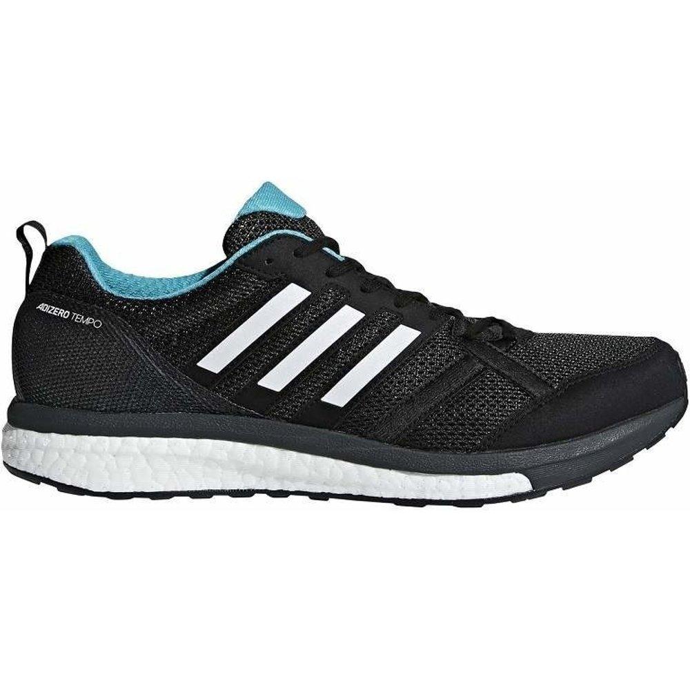 Adidas Adidas adiZero Tempo 9 core black/hi-res aqua/mystery ink