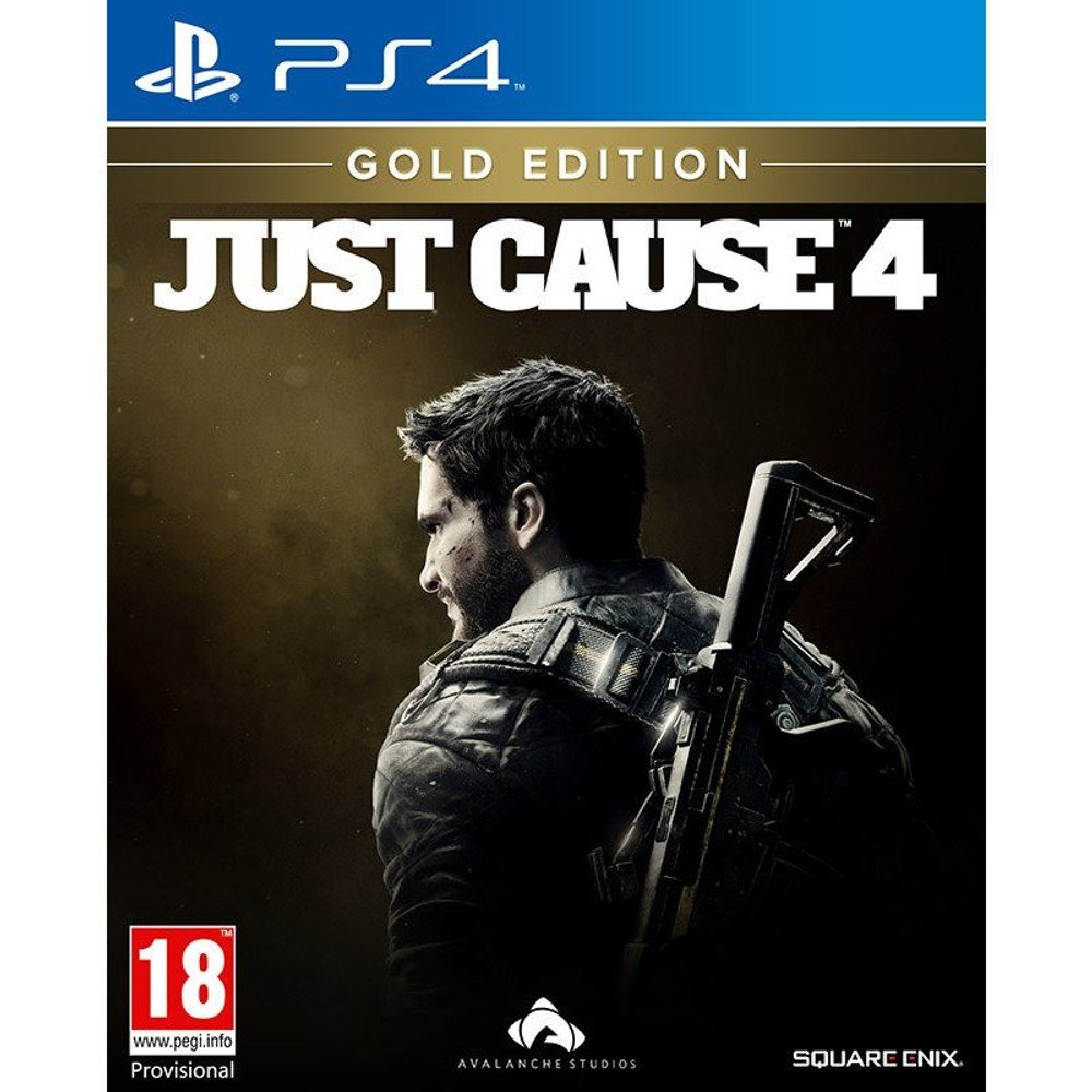 Square Enix Just Cause 4: Gold Edition (PS4)