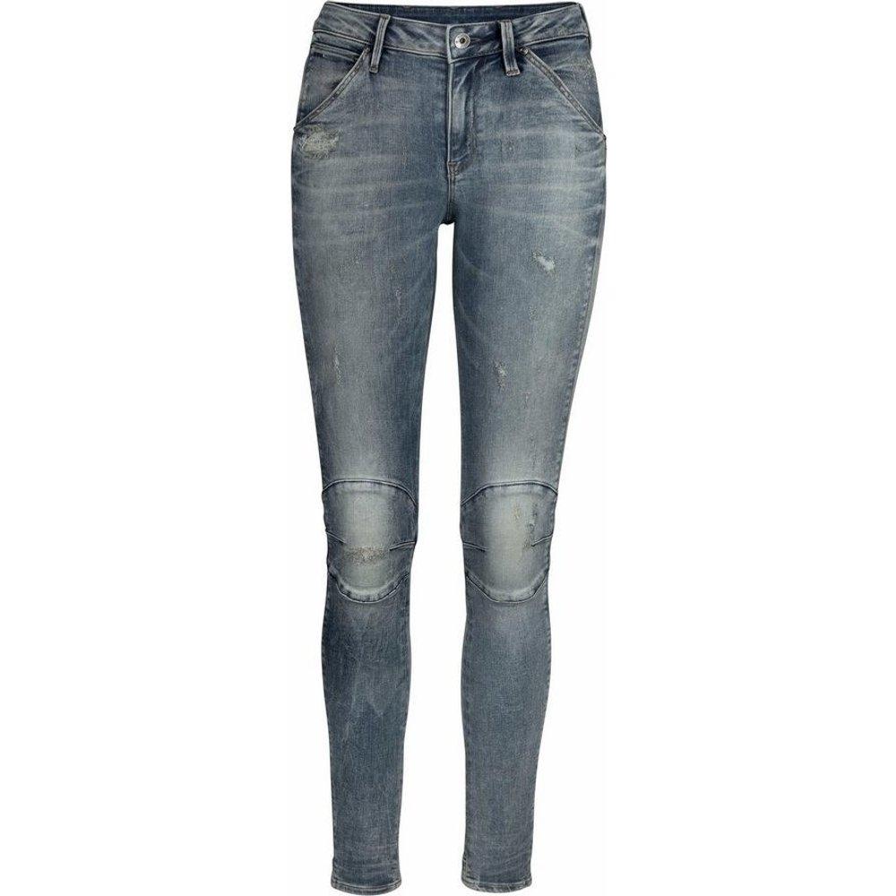 G-Star G-Star 5622 Mid waist Skinny Jeans light vintage aged destroy