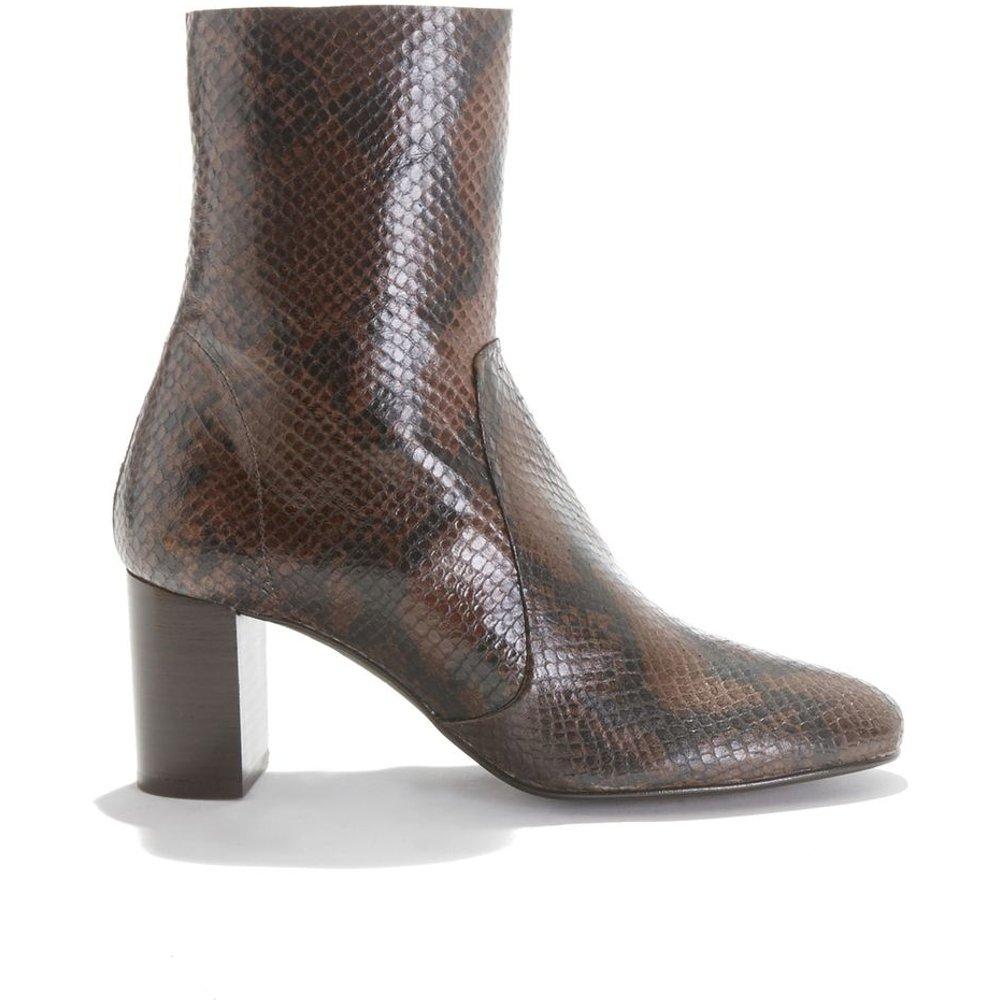 Boots à haut talon en cuir DIDLANEO - JONAK - Modalova