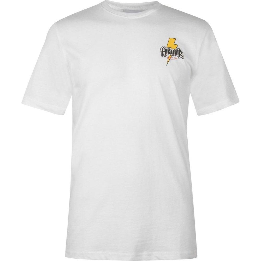 T-shirt col rond manche courte - Airwalk - Modalova