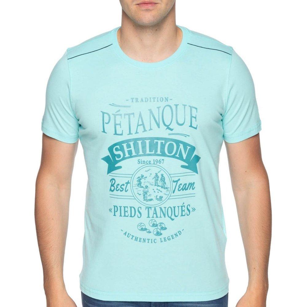 T-shirt pétanque pieds tanqués - SHILTON - Modalova