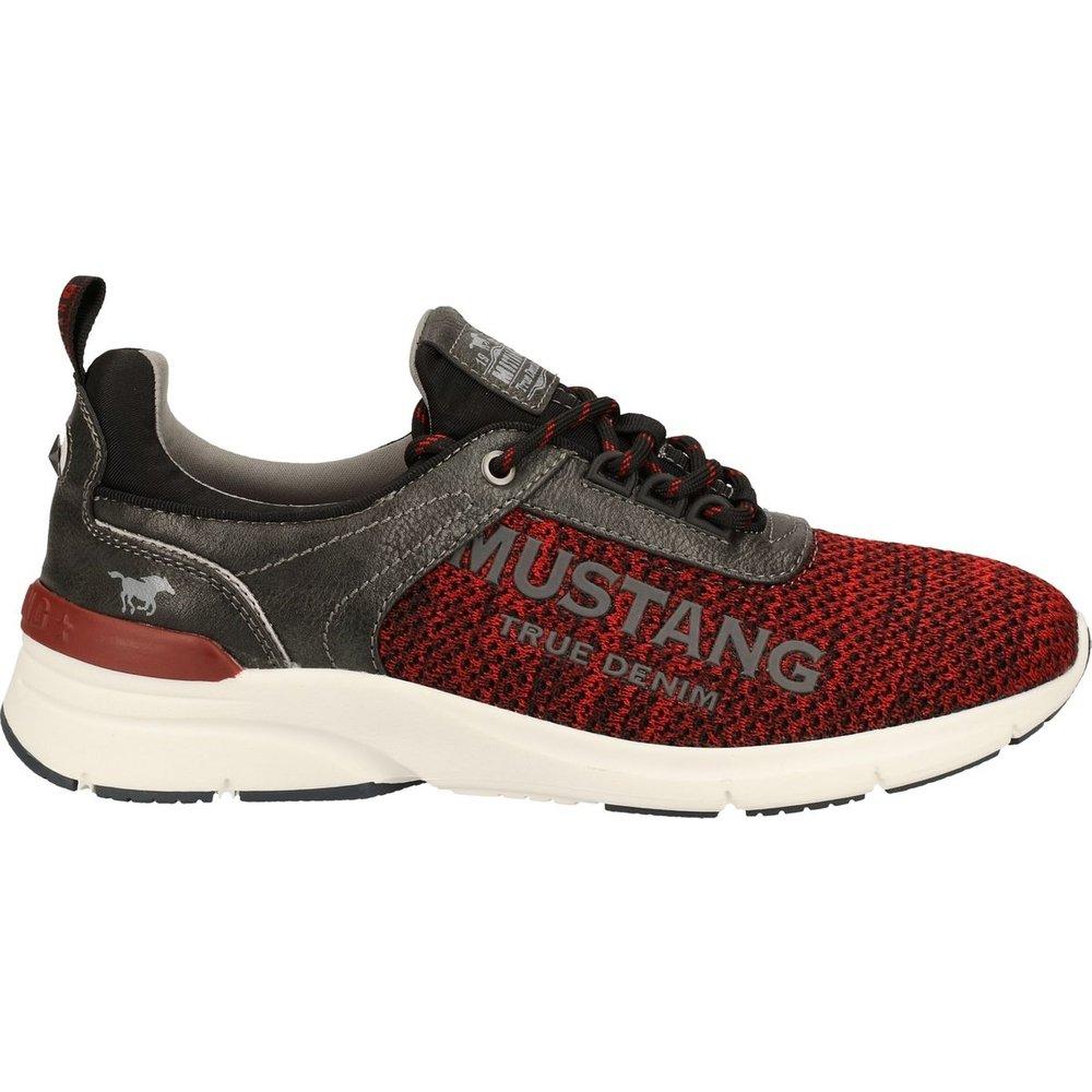 Sneaker Imitation cuir/Textile - mustang - Modalova
