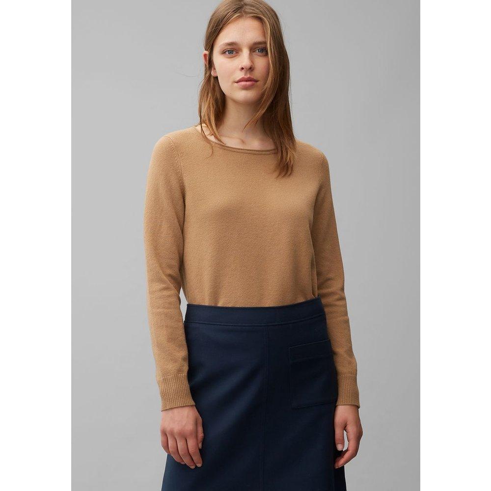 Pull en laine et coton stretch - Marc O'Polo - Modalova