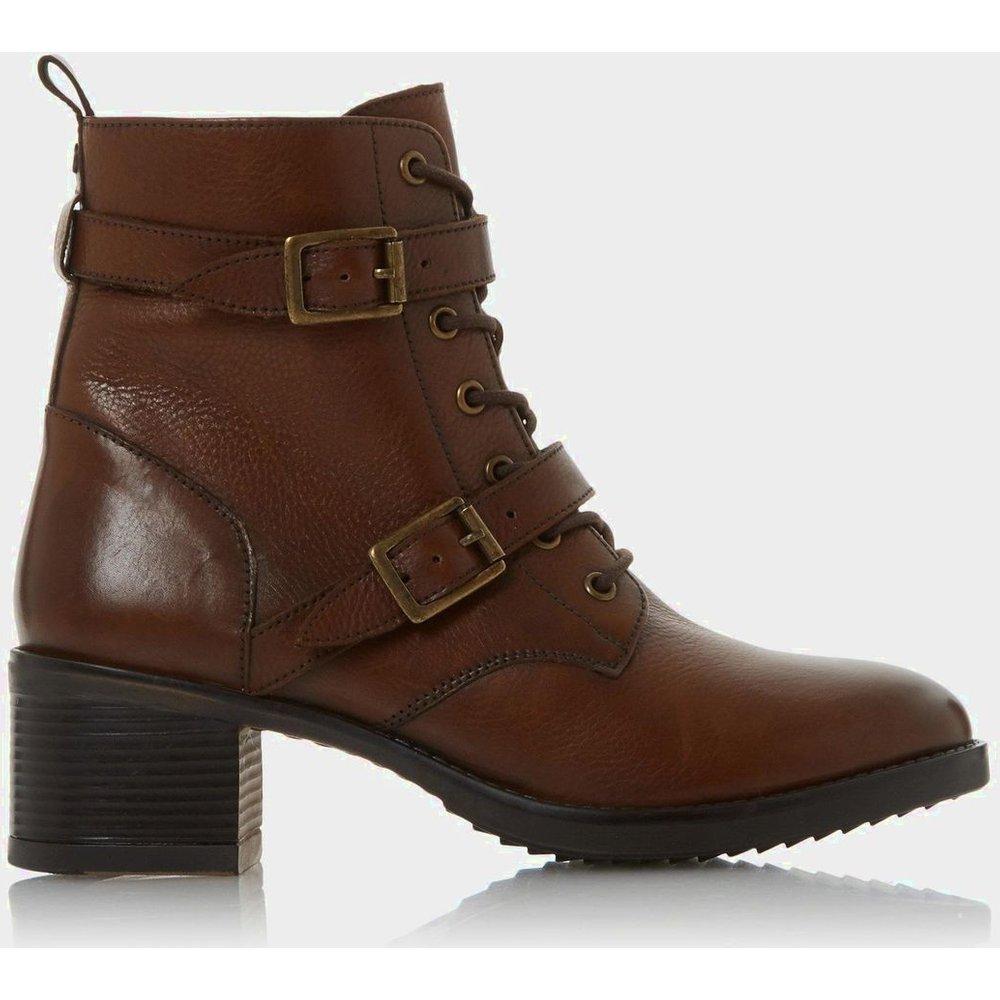 Boots de randonnée à talons et boucles - PAXTONE - DUNE LONDON - Modalova
