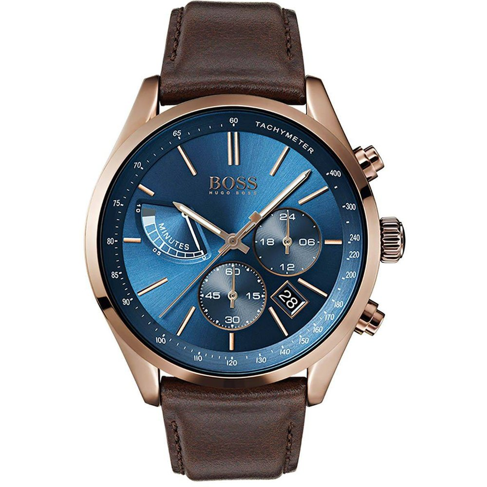 Montre BOSS en Cuir Marron - BOSS - HUGO BOSS - Modalova